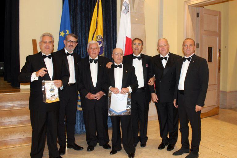 70h. Celebrazione Centenario Lc Sliema Malta Serata Charter E Cena Di Gala Malta 4.11.2017